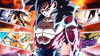 LEGENDARY FULL POWER TEAM! FP SSJ4 Goku X LR Goku & Frieza! Dragon Ball Z Dokkan Battle