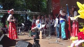 00163 Folkloras koris KARIOLLE (Vācija) Ārvalstu viesu kolektīvu koncertā Vērmanes dārzā 8.07.2018