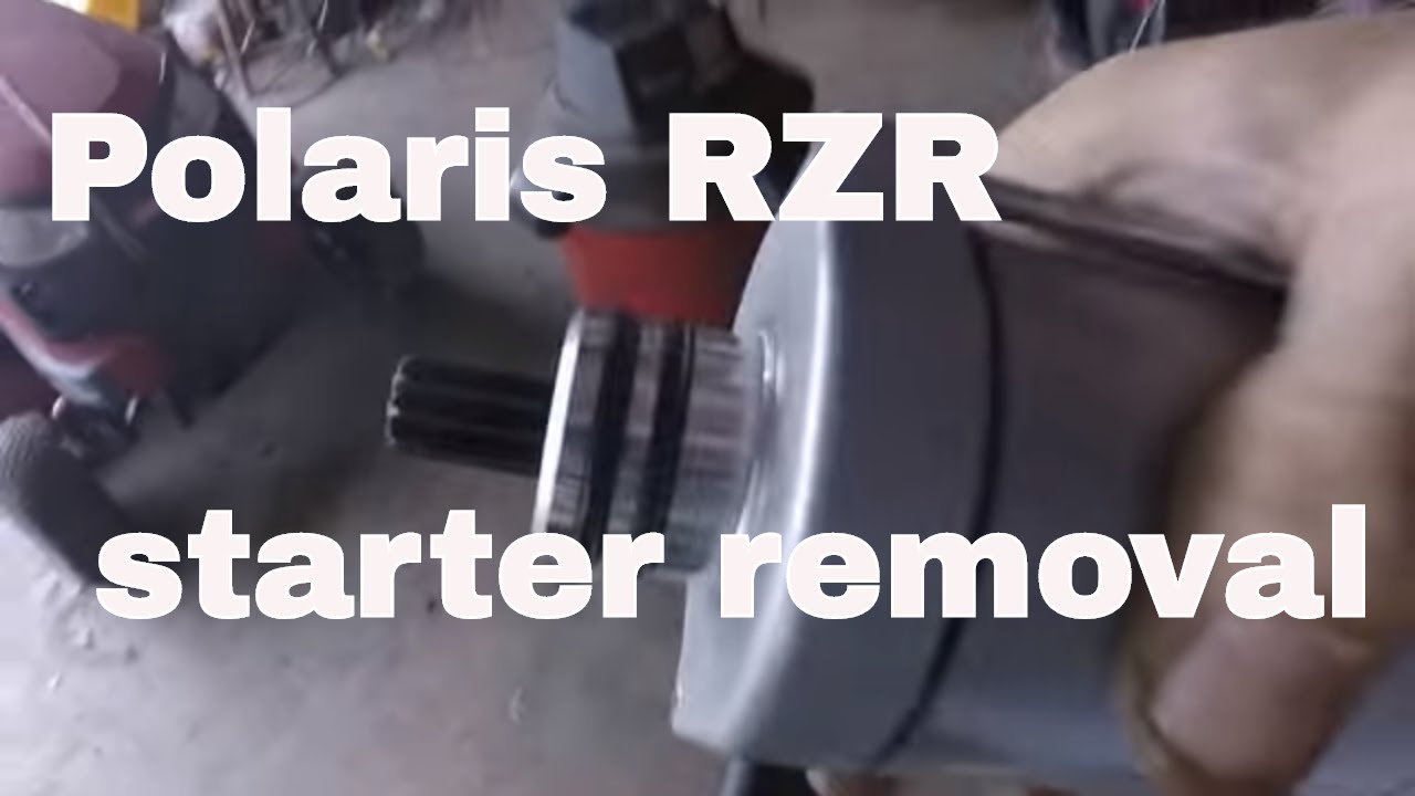 small resolution of  800 starting wiring diagram 11 polaris rzr starter removal youtubepolaris rzr starter removal