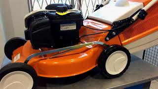 stihl RM 248 T. Обзор газонокосилки