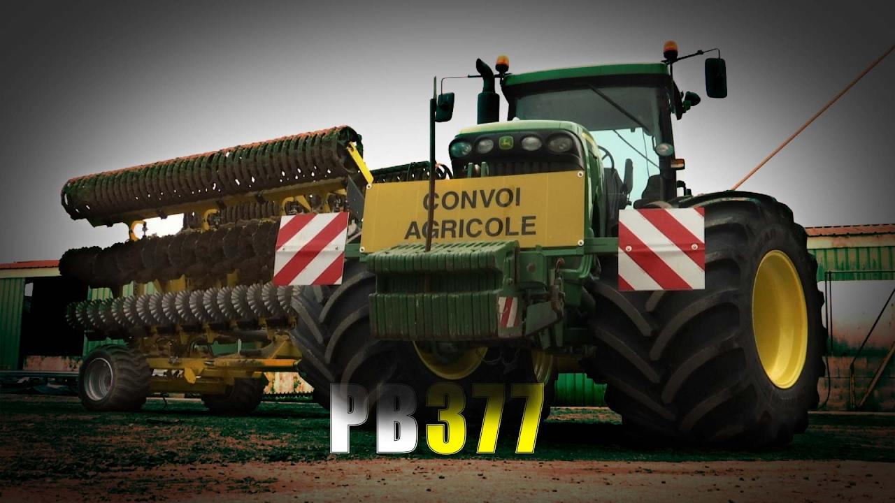 tracteur de l gende et pneus extra larges powerboost n 377 17 02 2017 youtube. Black Bedroom Furniture Sets. Home Design Ideas