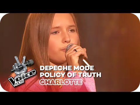 Depeche Mode - Policy Of Truth (Charlotte) | Blind Auditions | The Voice Kids 2016 | SAT.1