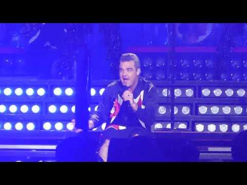 Robbie Williams - Rock DJ [ Zurich Zürich 2 - 9 - 2017 ]
