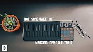 ROLI Songmaker Kit Tutorial & Demo