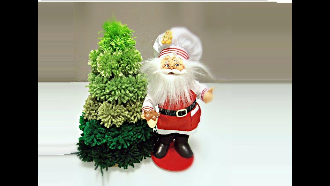Pom Pom Christmas Tree - YouTube