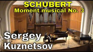 "Schubert, Moment musical in F minor ""Air russe"" D. 780 No. 3 — Sergey Kuznetsov"
