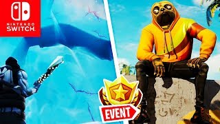 🔴 POLAR PEAK Mountain Wall & GEHEIMER BATTLE PASS STERN Week 3 | Fortnite Switch