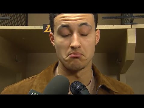 Kyle Kuzma on the trade rumors surrounding the Lakers and loss against the Pacers
