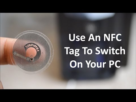 How To Wake Up Your PC By Touching Your Phone To An NFC Tag