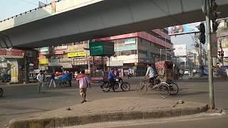Exhibition Road Chauraha || एक्जीबिशन रोड || in Patna Bihar