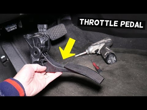 HOW TO REPLACE THROTTLE PEDAL, ACCELERATOR ON CHEVY, CHEVROLET, BUICK, GMC, CADILLAC