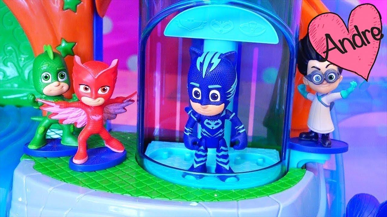 Juguetes de PJ Masks  Heroes en pijamas rescatan a Peppa Pig My