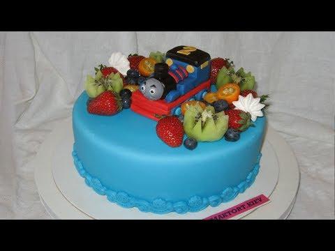 Торт Паровозик Томас.
