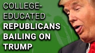 Educated Republicans Are Abandoning Trump
