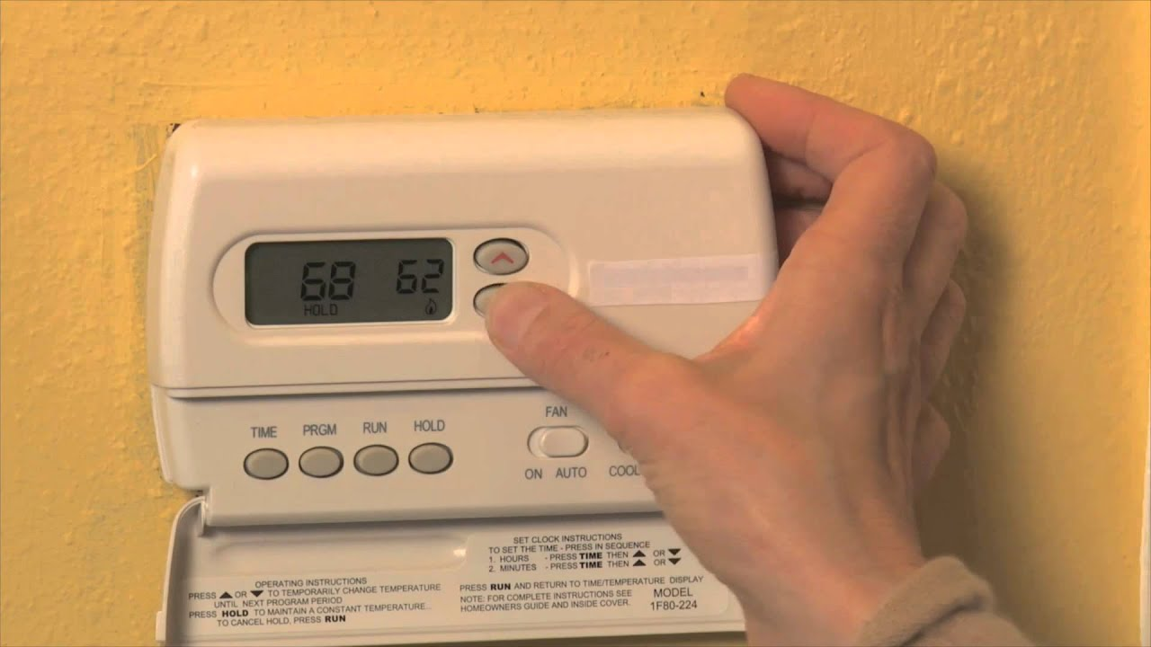 How to set your home thermostat