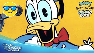Happy Beatbox Day Donald Duck | Birthday Song | Official Disney Channel UK