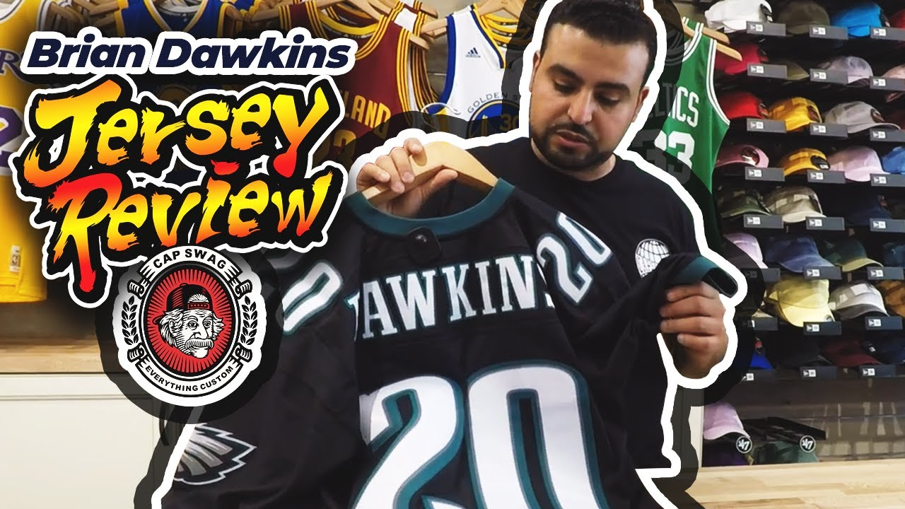 big sale 88663 fd780 Brian Dawkins Mitchell & Ness Replica Philadelphia Eagles Jersey Review
