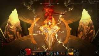 Diablo 3 - Solo Azmodan and Diablo (Barbarian 34 lvl, hardcore)