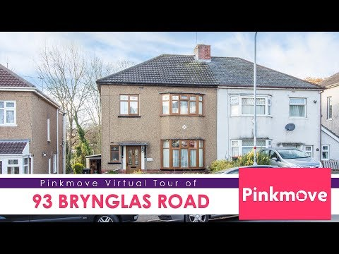 Pinkmove virtual tour of 93 Brynglas Road