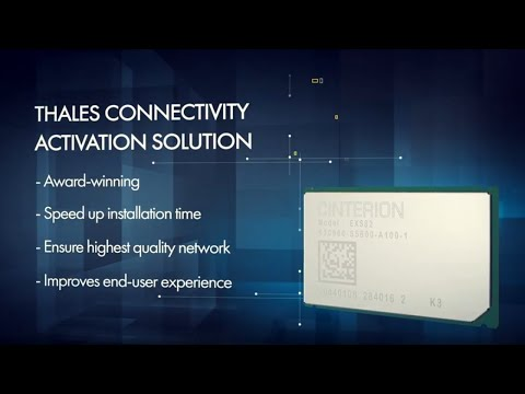 IoT Connectivity Provisioning at the Installation Site - Thales