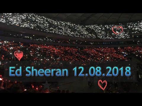 Ed Sheeran Warszawa 2018