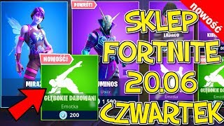 FORTNITE 20.06 SHOP-TOP SKINS Mirage, Luminos, Arcana, deep dabing emoticons cheery
