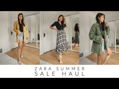 SUMMER OUTFIT IDEAS | ZARA SALE HAUL from YouTube · Duration:  16 minutes 2 seconds