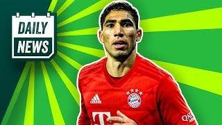 Transfers: Hakimi zum FC Bayern? Der GOAT wechselt! Real Madrid holt das nächste