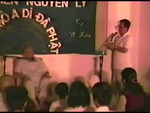 1994 Khóa Học 1, Thiền Viện Vĩ Kiên, p1