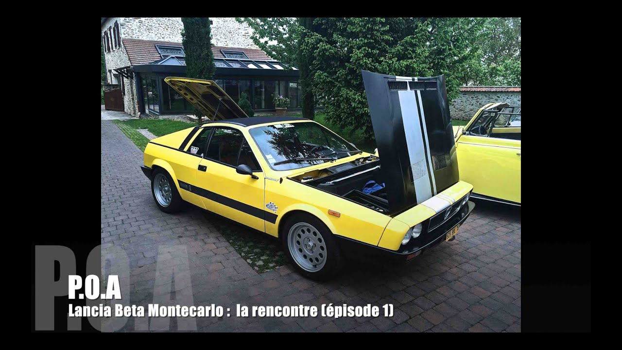 Lancia Beta Montecarlo Spider   La Pr U00e9sentation  1  3