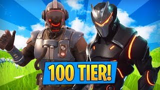Fortnite in English-i GUESS to get UP to 100, UNLOCK OMEGA AND THE VISITOR SKINS!