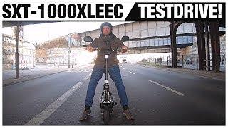 SXT-1000XLEEC Facelift 2019, Testdrive, Probefahrt, Review, SXT-500, SXT-Ultimate,SXT-Scooters (DEU)