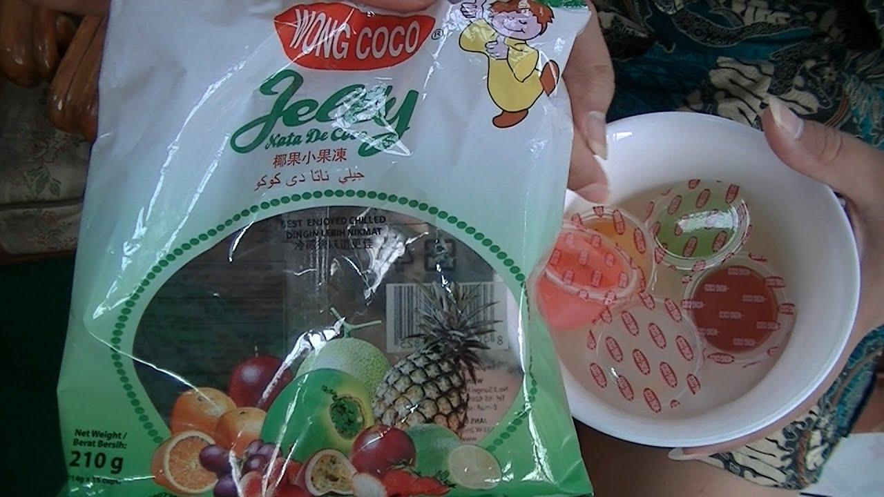 Miss Mary Culinary Food Review 155 Wong Coco Jelly Nata De Coco BR ...