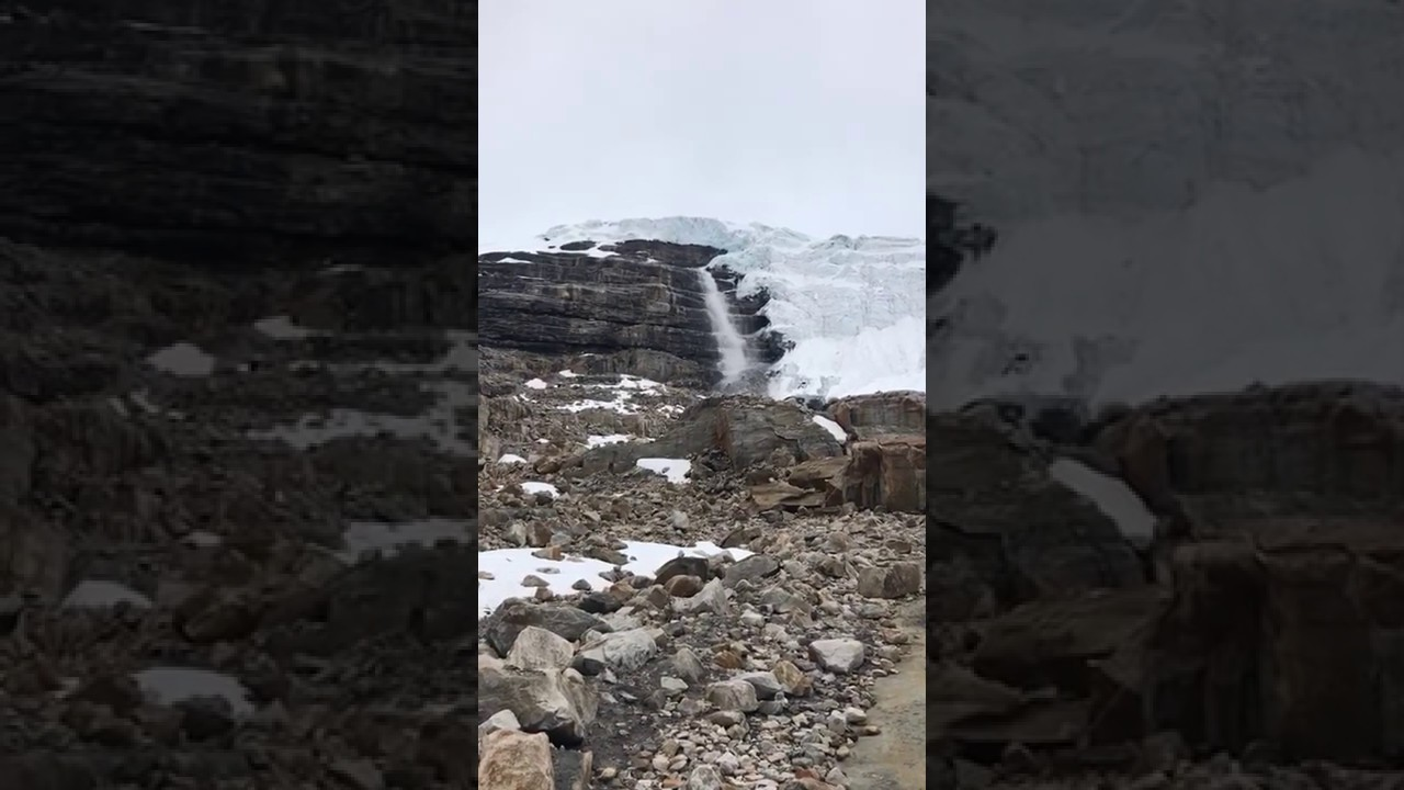 Desprendimiento de hielo glaciar Cóncavo (Sierra Nevada El Cocuy o Güicán)