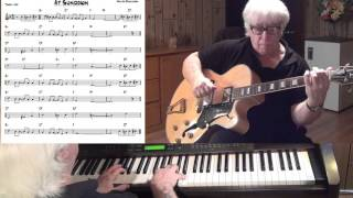 At Sundown - Jazz guitar & piano cover ( Walter Donaldson )