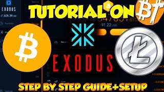 Exodus wallet setup+Tutorial-Step By Step Guide in (2018)|How to download exodus wallet+Using Wallet
