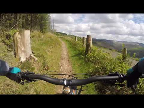 Afan XC Trail riding, W2, well most of it anyway!!!