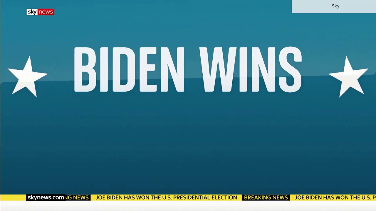 Sky News calls 2020 election for Joe Biden