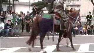 秋の風物詩、会津藩公行列が今年も賑々しく行われました。今年は俳優の...