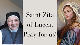 Saint Zita - Sr Bernadette Cool, FoH