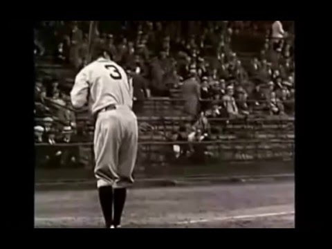 Watch Babe Ruth's Baseball Swing Gain Distance The Easy Way