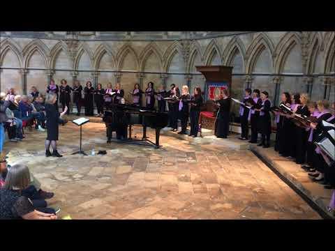 Di Voci Ladies Choir - Ave Verum - Recital at Lincoln Cathedral