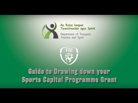 Guide to Drawing down your Sports Capital Programme Grant
