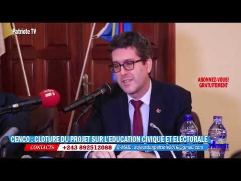 EDUCATION CIVIQUE ET ELECTORELE, CENCO PROPOSE DES SOLUTION A L'ETAT CONGOLAIS