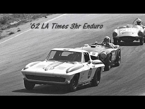 First-Ever 1963 Z06 Corvette Stingray - Dave MacDonald Picks Up And Then Races Z06 #684 At Riverside