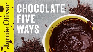 5 Things to do With….Chocolate | Food Tube Classic Recipes | #TBT