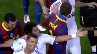 El clasico - Real Madrid vs Barcelona  Most Heated moments