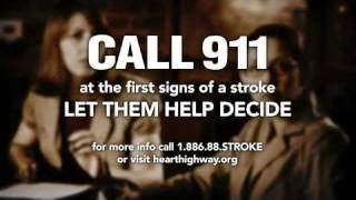 Stroke Symptom-Blurred Vision-Call 911
