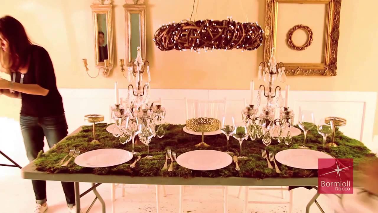 La tavola di natale 2013 di enzo miccio per bormioli rocco youtube - Addobbare la tavola per natale ...