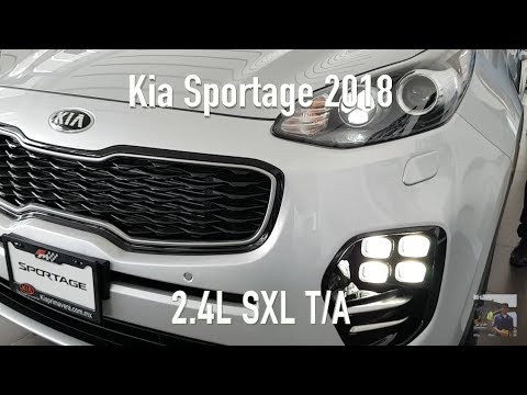 Kia Sportage 2018 2.4L SXL